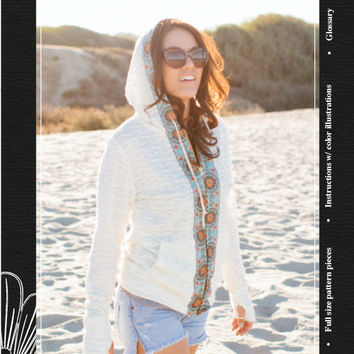 Sol Hoodie sewing pattern - Jamie Christina sewing pattern