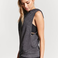 Active Surplice-Side Hooded Top