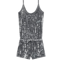 Velvet Sleep Romper - PINK - Victoria's Secret