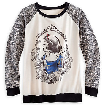 Snow White Fairytale Long Sleeve Tee for Women