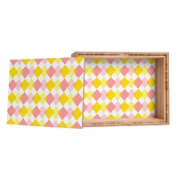 Hello Twiggs Yellow Party Storage Box