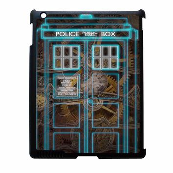 Steampunk Doctor Who Police Box Iphone Case iPad 4 Case