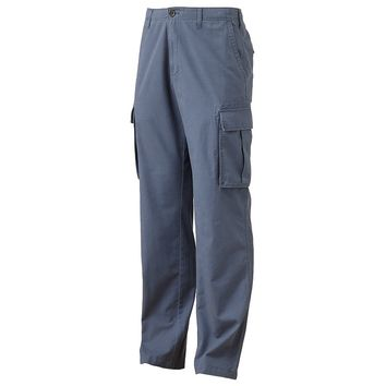 SONOMA life + style Relaxed-Fit Slubbed Cargo Pants - Big & Tall
