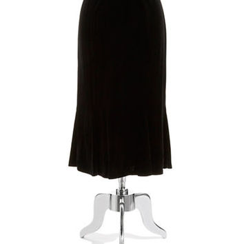 Alex Evenings Plus T-Length Fit-And-Flare Skirt