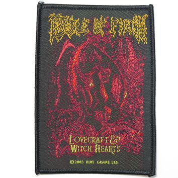 CRADLE OF FILTH Lovecraft Vintage Sew On Woven Patch