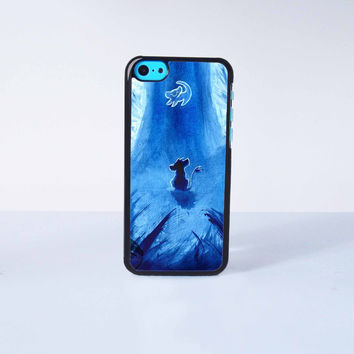 King of Lion Simba Plastic Case Cover for Apple iPhone 5C 6 Plus 6 5S 5 4 4s