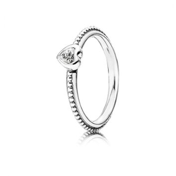 One Love Ring, Clear - Pandora Mall of America, MN
