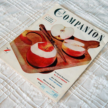Vintage Woman's Home Companion Magazine, Oct 1951