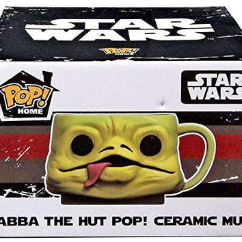 2016 July Smugglers Bounty Jabba the Hut Funko Pop! Home Ceramic Mug