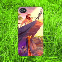 Thomas Kinkade Lion King iPhone 4, iPhone 5, Samsung S3, Samsung S4 case ,New Case for iPhone