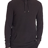 Polo Ralph Lauren - Ribbed Cotton Hoodie - Saks Fifth Avenue Mobile