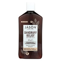 Jason Natural Products Shampoo And Conditioner - Treatment - Dandruff Relief - 12 Oz