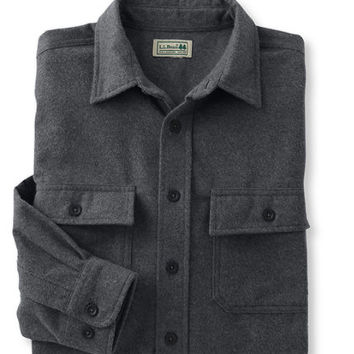 Bean's Chamois Cloth Shirt, Traditional Fit: Flannel, Chamois and Lined | Free Shipping at L.L.Bean