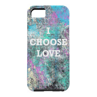 Amy Smith I Choose Love Cell Phone Case