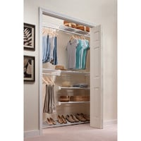 EZ SHELF from Tube Technology Expandable Reach-In Closet Organizer with Shoe Rack