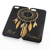 Black Bamboo Wood Case - Best Friends Forever / Dreamcatcher Matching Case