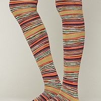 Free People  Fantasy Stripe Tall Sock at Free People Clothing Boutique