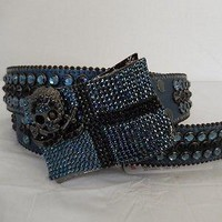 B.B. Simon 'Pirate' Swarovski Crystal Belt