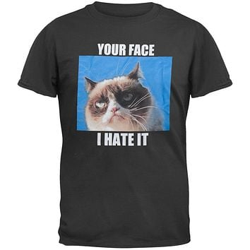 Grumpy Cat -Your Face I Hate It T-Shirt