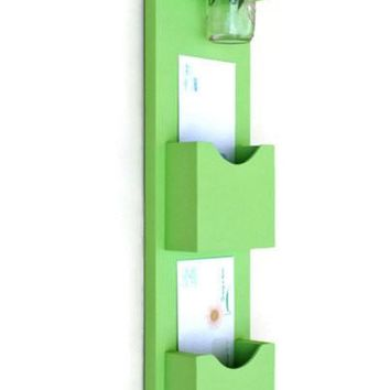 Mail Organizer - Letter Holder - Mail and Key Holder - Mail Sorter