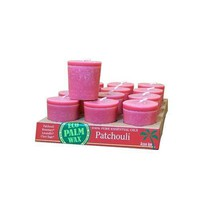Aloha Bay Candle Votive Essential Oil Patchouli - 12 Candles - Case of 12