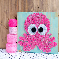 Octopus Wall Art Nursery Decor