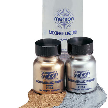 costume makeup: mehron metallic powder | gold Case of 2