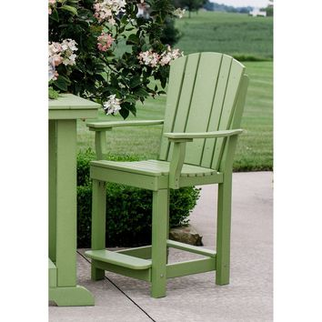 "Wildridge Outdoor Heritage Patio Chair - Seat Height 23.5""  - Ships in 10-14 Business Days"