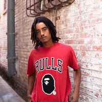 A BATHING APE Bape x Mitchell & Ness Tee NBA
