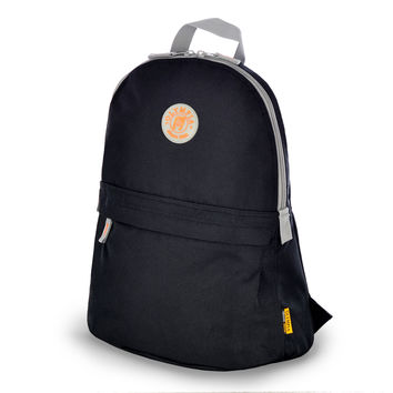"""Academy"" 17"" Eco-Friendly Backpack In Black"