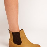 ASOS ATHENS Leather Chelsea Ankle Boots at asos.com