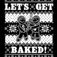 lets get baked  hoodie christmas gift hooded cool sweatshirts hoodies hoody