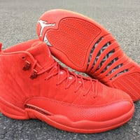 "Air Jordan 12 OVO ""Christmas"" Sport Basketball Shoes"