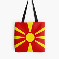 Flag of Macedonia by Bruce Stanfield