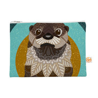 "Art Love Passion ""Otter in Water"" Everything Bag, 8.5"" x 6"" (Flat) - Outlet"