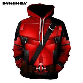 Deadpool Dead pool Taco Dykhmily Men Women Hoodie  Quality Hoodie Sweatshirt Wade Wilson Sweatshirts Casual Streetwear Fashion Hoodies AT_70_6