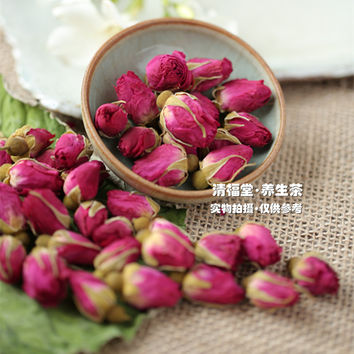 [GRANDNESS] Chinese Flower Tea Organic Red Rose Buds Floral Herbal Dried Health for Women Lady chinese rose tea 100g