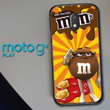 Chocolate Candy M&M Y2361 Motorola Moto G4 Play Case