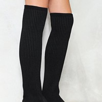 Come Closer Knit Knee-High Boot