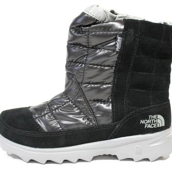 The North Face Boy's Winter Camp WP TNF Black Winter Boots CXY3WL4