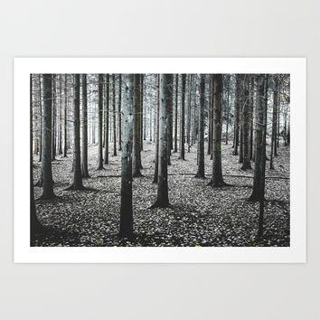 Coma forest Art Print by happymelvin