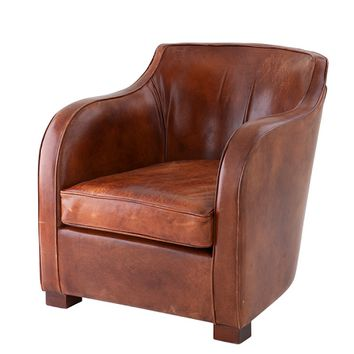 Leather Chair | Eichholtz Club Berkshire