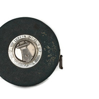 Vintage Lufkin NI- CLAD Steel Tape Measure Royal 100Ft