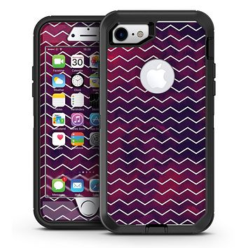 Purple and Pink Unfocused Glowing Light Orbs - iPhone 7 or 7 Plus OtterBox Defender Case Skin Decal Kit