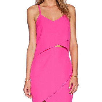ELLIATT The Shot Tulip Dress in Pink
