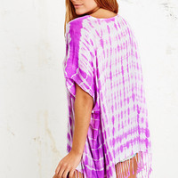 Seafolly Byron Poncho in Purple - Urban Outfitters