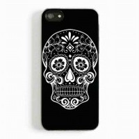 Sugar Skull 12 for iphone 5 and 5c case