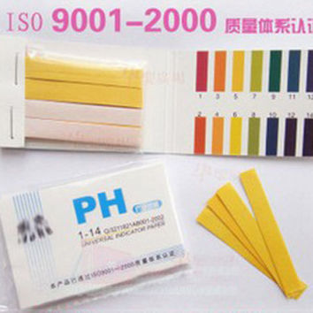 240 Strips Full Range pH Alkaline Acid 1-14 Test Paper Water Litmus Testing