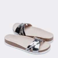 CROSSOVER STRAPS SANDALS - Footwear - Woman - Homewear & shoes | Zara Home United Kingdom
