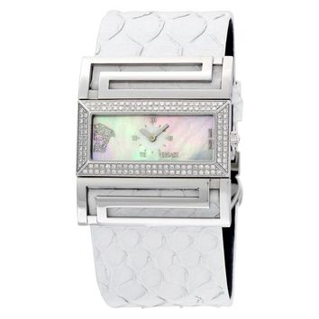 Versace Deauville Stainless Steel Ladies Watch VSQ91D001-S001P